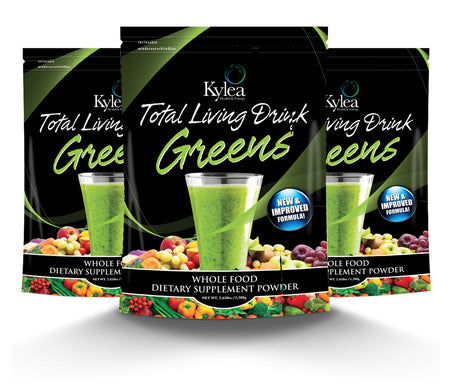 Total Living Drink Greens - 3 Pack (Save $20)