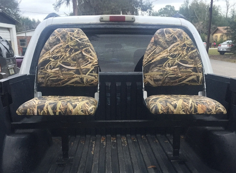 Fresh Camo Truck bed Seats Bucket Style