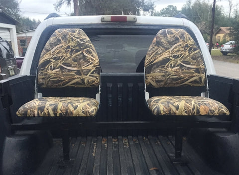 Truck Bed Seats Bucket Camo Style