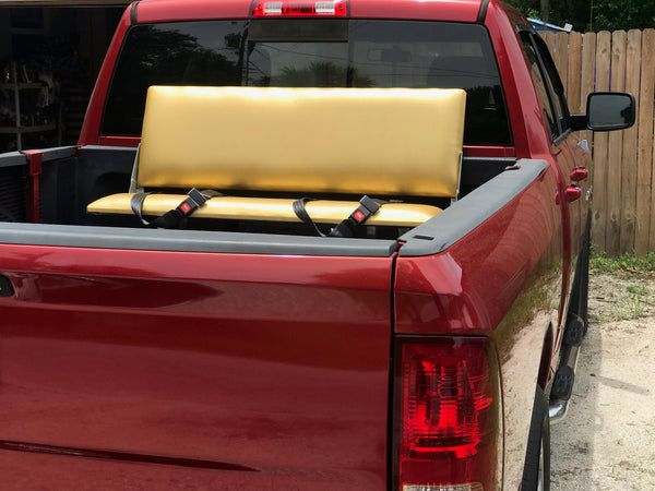 Gold Bench Truck Bed Seat