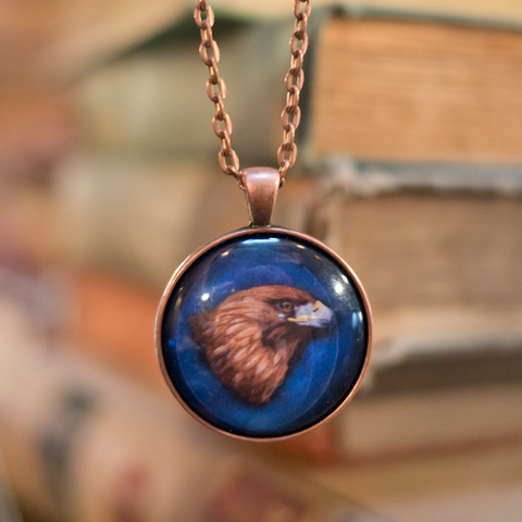 """Wit"" - House Pride Cabochon Necklace"