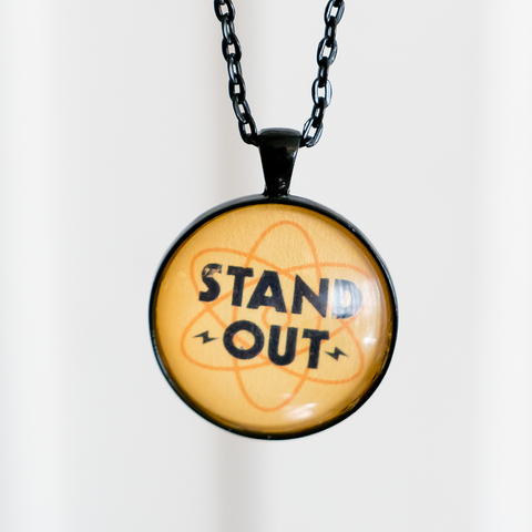 """Stand Out"" - Cabochon Necklace"