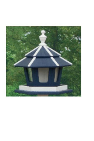 Amish Made 3-Compartment Bird Feeder - Amish Baskets and Beyond