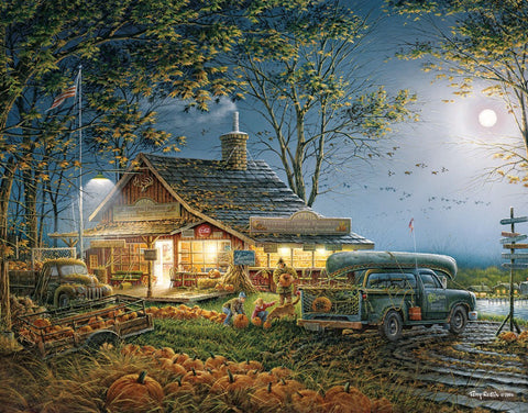 Made in the USA Jigsaw Puzzle - 300 Pc. - Autumn Traditions