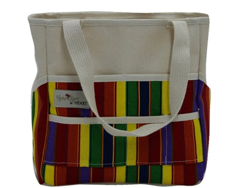 Handmade Child's Art Tote - Amish Baskets and Beyond