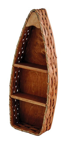 Amish Handmade Boat Basket Shelf - Small - Amish Baskets and Beyond