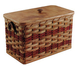 Amish Handmade Bread Box Basket - Amish Baskets and Beyond