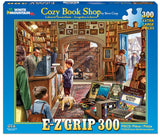 Made in the USA Jigsaw Puzzle - 300 Pc. - Cozy Book Shop - Amish Baskets and Beyond