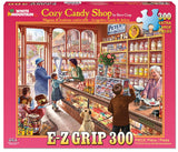 Made in the USA Jigsaw Puzzle - 300 Pc. - Cozy Candy Shop - Amish Baskets and Beyond