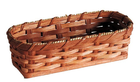 Amish Handmade Cracker Basket - Amish Baskets and Beyond