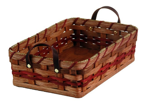 Amish Handmade Dinner Roll Basket - Large - Amish Baskets and Beyond