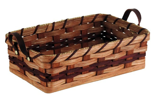 Amish Handmade Dinner Roll Basket - Small - Amish Baskets and Beyond