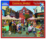 Made in the USA Jigsaw Puzzle - 1000 Pc. - Farmers Market - Amish Baskets and Beyond