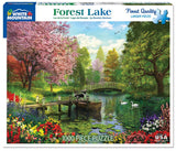 Made in the USA Jigsaw Puzzle - 1000 Pc. - Forest Lake - Amish Baskets and Beyond