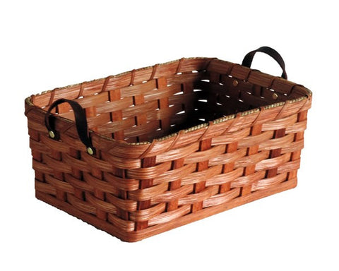 Amish Handmade Fruit Basket - Small - Rectangular - Amish Baskets and Beyond