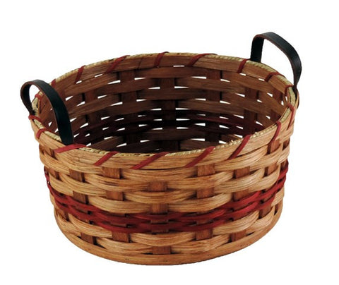 Amish Handmade Fruit Basket - Medium - Round - Amish Baskets and Beyond