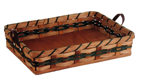 Amish Handmade Hot Dish/Cake Pan Basket - Amish Baskets and Beyond