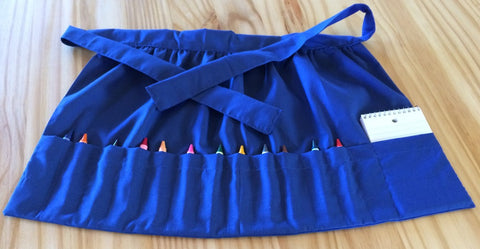 Amish Handmade Child's Art Apron - Amish Baskets and Beyond