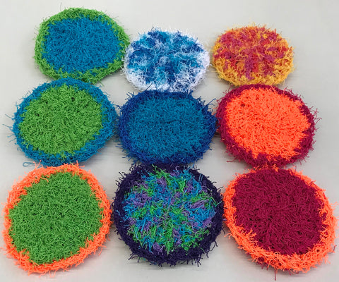 Handmade Crochet Dish/Pot Scrubbies