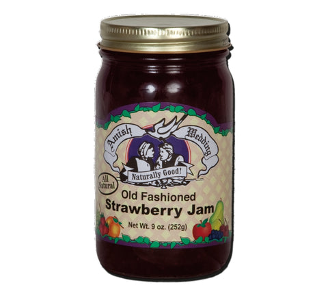 Strawberry Jam- 9 oz - 2 Jars
