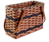 Amish Handmade Magazine Basket - Amish Baskets and Beyond