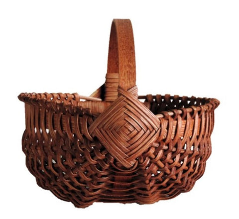 Amish Handmade Melon Basket - Small - Amish Baskets and Beyond