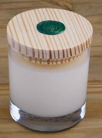 Handmade All-Natural Scented Bees Wax and Coconut Artisan Crafted Jar Candles  - 8 oz. - Amish Baskets and Beyond