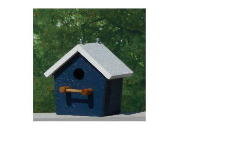 Amish Made Plain Bird House - Amish Baskets and Beyond