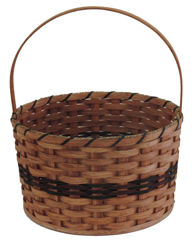 Amish Handmade Round Easter Basket - Extra Large - Amish Baskets and Beyond