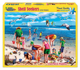 Made in the USA Jigsaw Puzzle - 550 Pc. - Shell Seekers