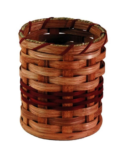 Amish Handmade Utensil Basket - Amish Baskets and Beyond