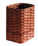 Amish Handmade Waste Basket - Small - Oval - Amish Baskets and Beyond