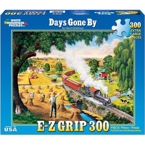 Made in the USA Jigsaw Puzzle - 300 Pc. - Days Gone By - Amish Baskets and Beyond