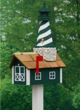 Amish Made Lighthouse Mailbox - Amish Baskets and Beyond