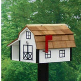 Amish Made Painted Mailbox Combo - Amish Baskets and Beyond