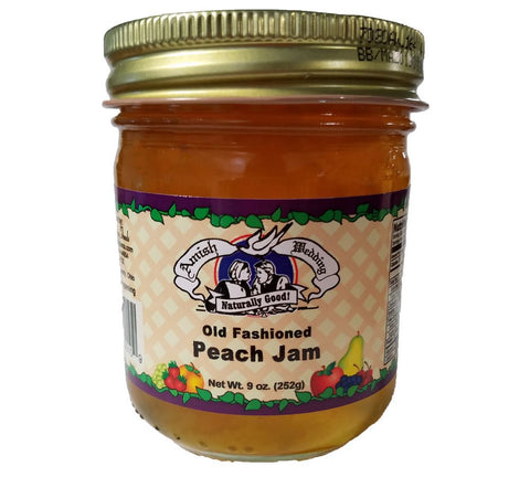 Peach Jam- 9 oz - 2 Jars