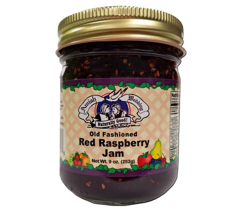 Red Raspberry Jam- 9 oz - 2 Jars