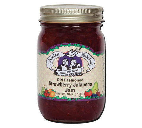 Strawberry Jalapeno Jam - 18 oz - 2 Jars