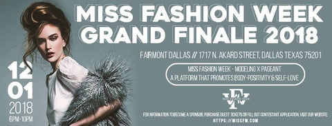 Miss Fashion Week Grand Finale