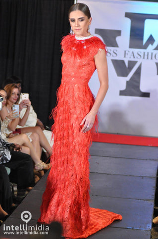 Kassidy Young Miss Fashion Week International 2018