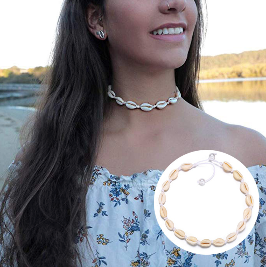 VSCO Shell Necklace Bundle - Free Shipping