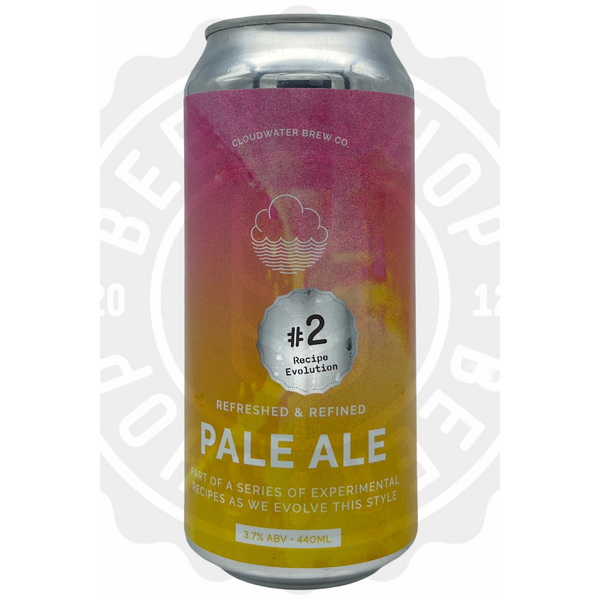Cloudwater Brew Co. Pale Ale: Recipe Evolution #2