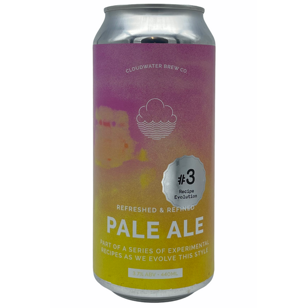 Cloudwater Brew Co. Pale Ale: Recipe Evolution #3