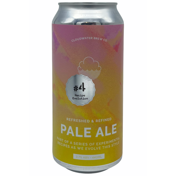 Cloudwater Brew Co. Pale Ale: Recipe Evolution #4