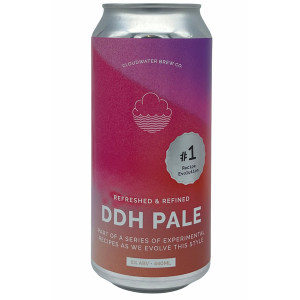 Cloudwater Brew Co. DDH Pale: Recipe Evolution #1