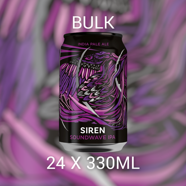 BULK Siren Craft Brew Soundwave 24x330ml