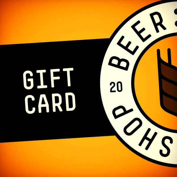Beer Shop Physical Gift Card