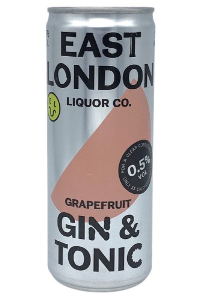 East London Liquor Co. Low ABV Gin & Tonic