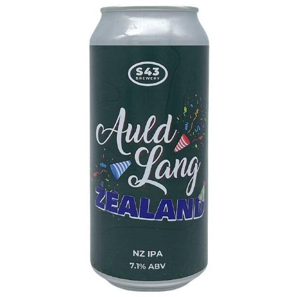 S43 Brewery Auld Lang Zealand