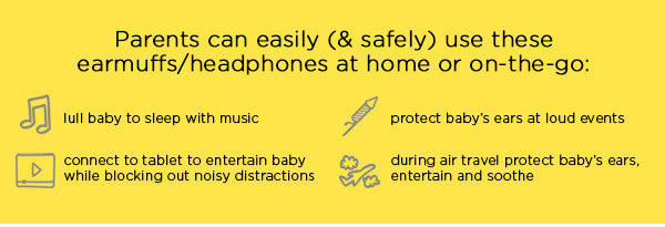 Banz Safe N Sound Earmuffs With Bluetooth For Babies Milk And Honey Philippines Online Store